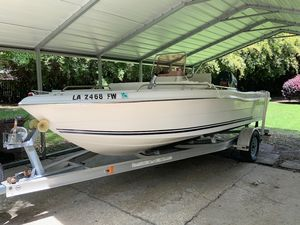 Used Clearwater 1900 Center Console Center Console Fishing Boat For Sale