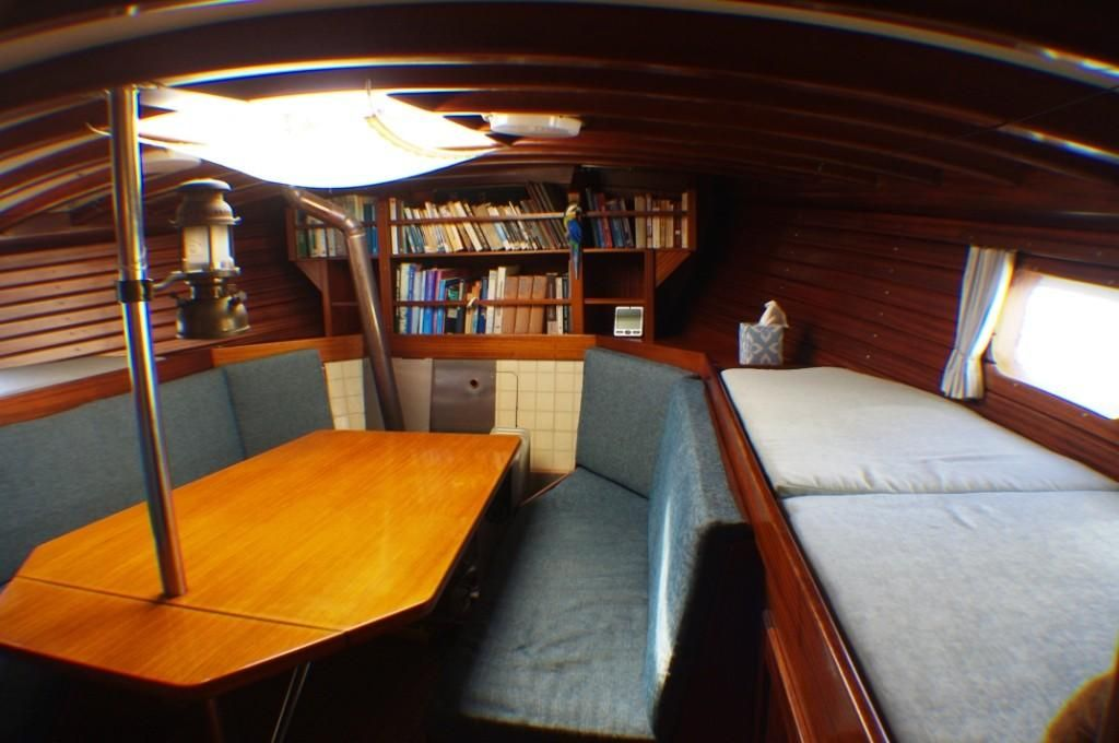 1994 Used Colin Archer Custom Ketch Cruiser Sailboat For