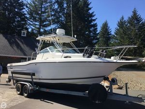 Used Seaswirl Striper 2600 WA Walkaround Fishing Boat For Sale