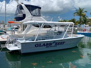Used Spencer Glass Bottom Dive Boat For Sale