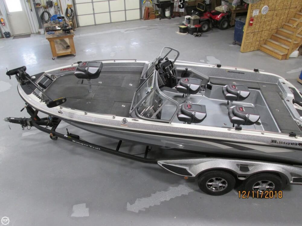 2016 Used Ranger Boats 620FS Bass Boat For Sale - $65,450