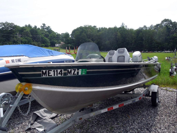 Used Lund 1650V Rebel SS Freshwater Fishing Boat For Sale
