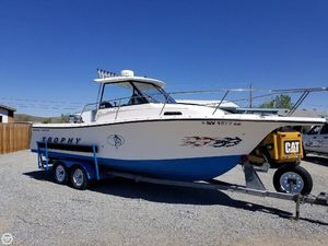 Used Trophy 2352 Walk Around Walkaround Fishing Boat For Sale
