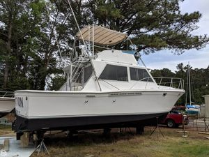 Used Uniflite 38 Convertible Sports Fishing Boat For Sale