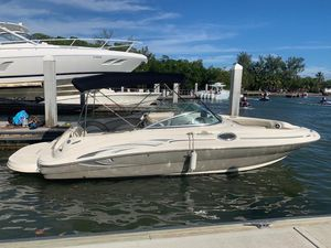 Used Sea Ray Sundeck 240 Cruiser Boat For Sale