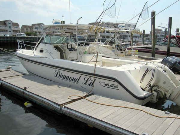 Used Boston Whaler Outrage Saltwater Fishing Boat For Sale