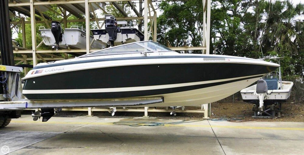 1995 Used Cobalt 233 Cuddy Cabin Cruiser Boat For Sale