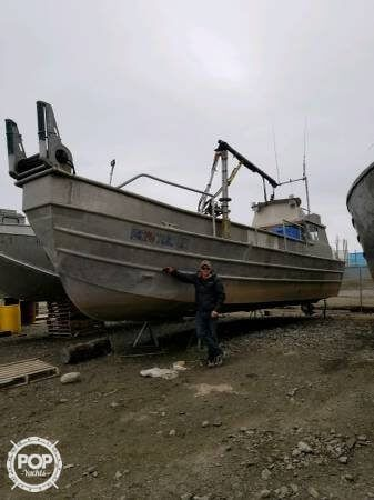 Used Hydraulic Fishing 36 Crabber Boat For Sale