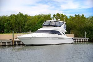 Used Sea Ray 560 Sedan Bridge Flybridge Boat For Sale