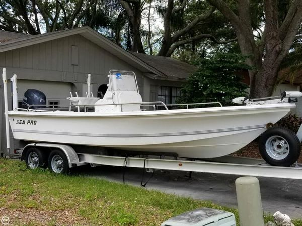 Used Sea Pro SV2100 CC Bay Boat For Sale