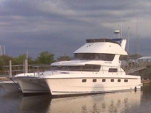 Used Aventure Power Cat Power Catamaran Boat For Sale