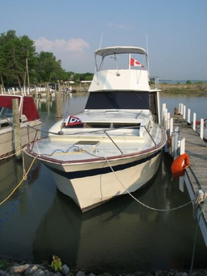 Used Chris-Craft 37 Roamer Convertible Fishing Boat For Sale