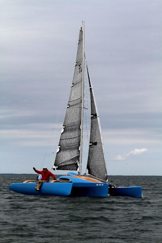 2014 Used Farrier F-22 Trimaran Sailboat For Sale - $49,900