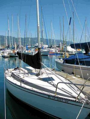 Used Merit Racer and Cruiser Sailboat For Sale