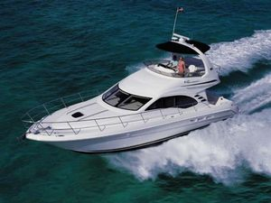 Used Sea Ray 420 Sedan Bridge Express Cruiser Boat For Sale