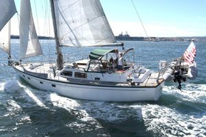 Used Brewer Pilothouse Cutter Cruiser Sailboat For Sale