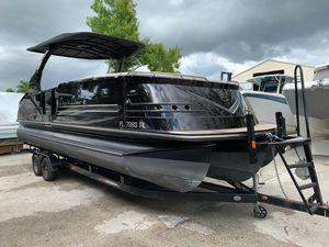 Used Harris Flotebote V270 Pontoon Boat For Sale