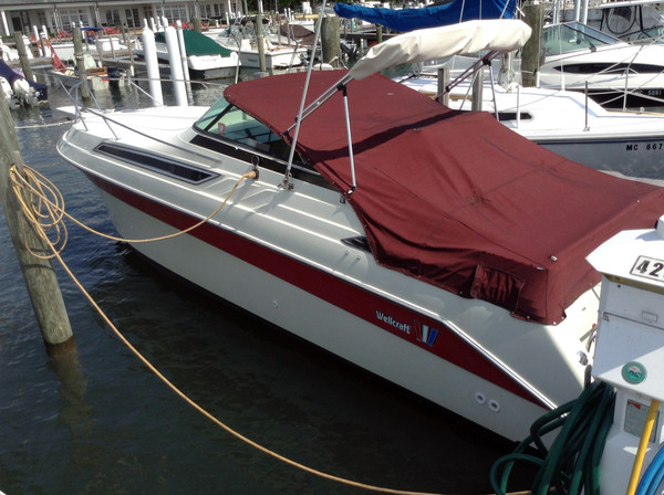 Used Wellcraft 265 Antigua Express Cruiser Boat For Sale