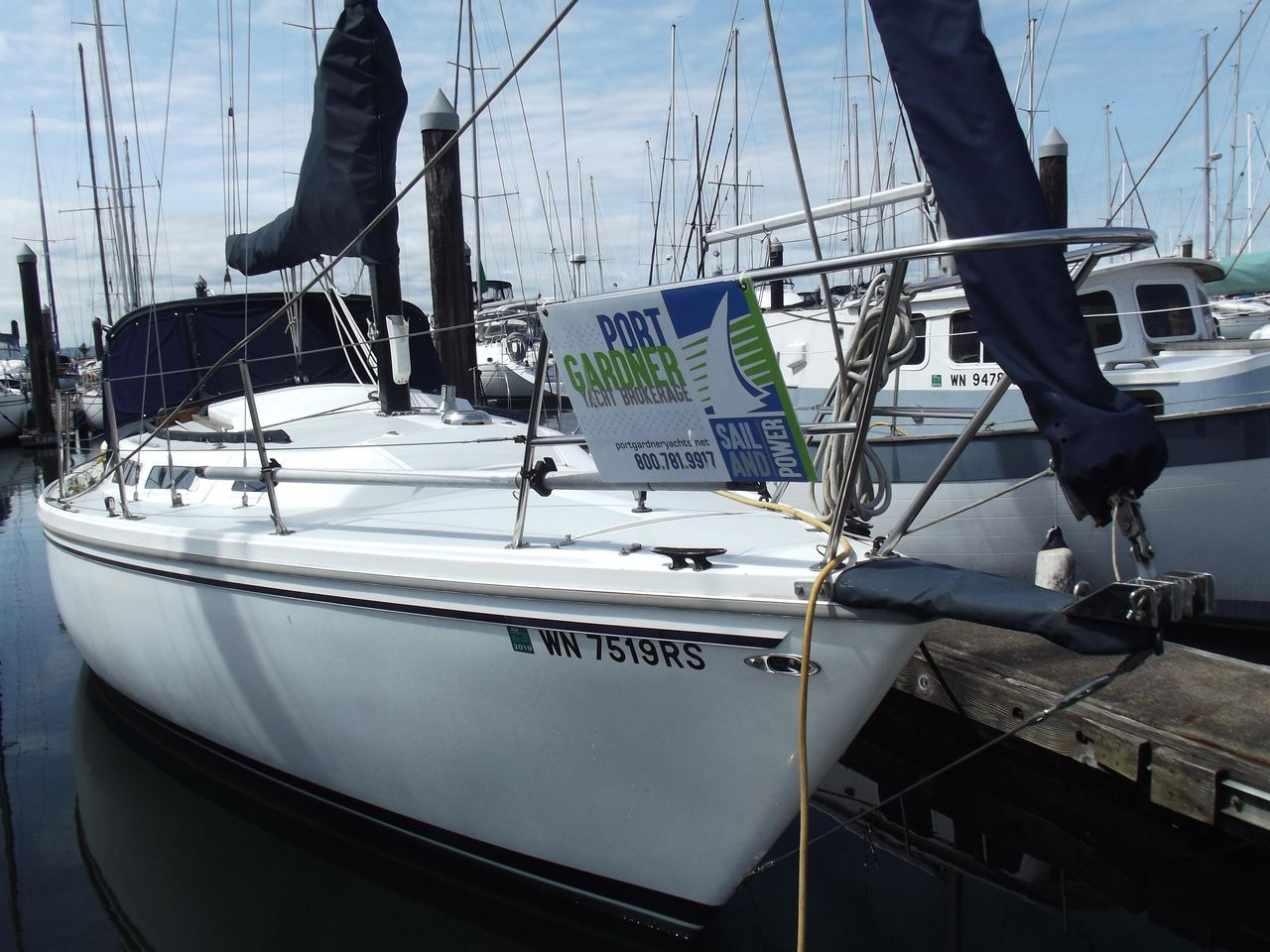 1977 Used Catalina 30 Sloop Sailboat For Sale - $24,900