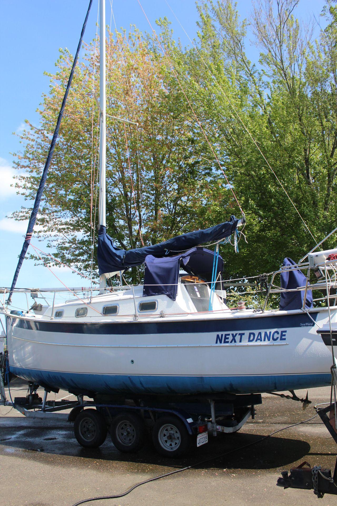 1999 Used Seaward 25 Cruiser Sailboat For Sale - $24,900