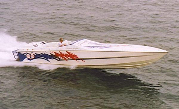 Used Cigarette Racing Top Gun Express Cruiser Boat For Sale