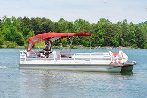 Used Jc Suntoon 28 Pontoon Boat For Sale