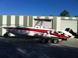 Used Donzi ZF Cuddy Center Console Fishing Boat For Sale