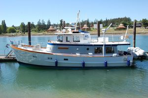 Used Willard Marine Dover Pilothouse Repowered Trawler Boat For Sale
