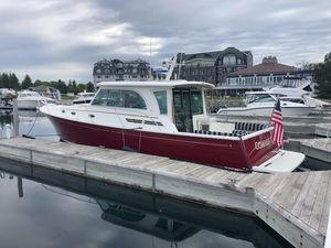 Used Back Cove 41 Downeast Fishing Boat For Sale