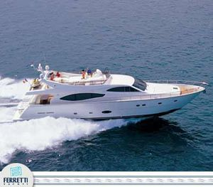 Used Ferretti Yachts 760 Motor Yacht For Sale