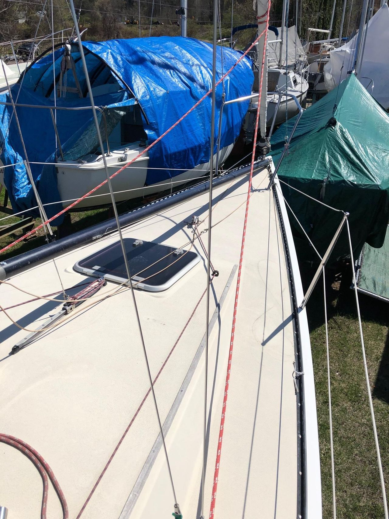 1982 Used Olson 30 Racer and Cruiser Sailboat For Sale