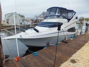 Used Silverton 330 Sport Bridge W Genny Motor Yacht For Sale