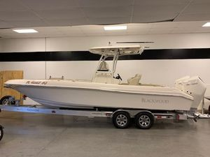 New Blackwood 27 Highdeck Center Console Fishing Boat For Sale