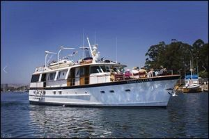 Used Burger Flushdeck Pilothouse Motor Yacht For Sale