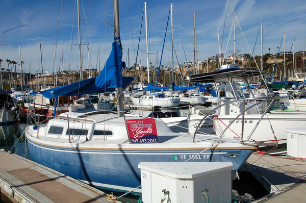 Used Catalina 27 Cutter Sailboat For Sale