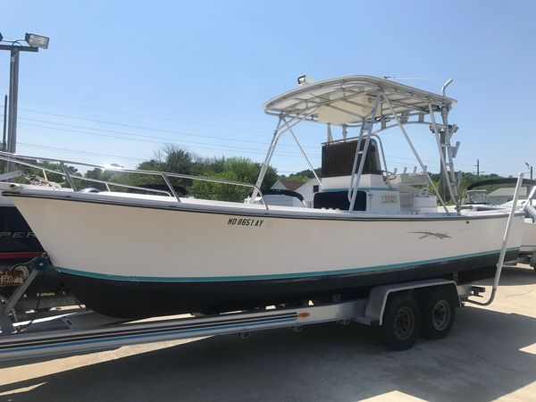 Used Shamrock 26 Center Console Center Console Fishing Boat For Sale