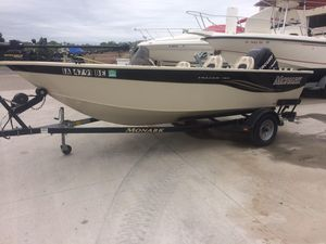 Used Monark Tracer 160 Freshwater Fishing Boat For Sale
