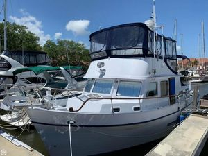 Used Marine Trader 40 Trawler Boat For Sale