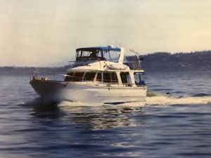 Used Chb Europa Style Trawler Motor Yacht For Sale