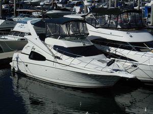 Used Silverton 330 Sport Bridge Convertible Fishing Boat For Sale
