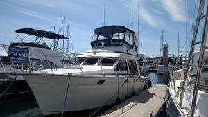 Used Tollycraft 34 Sport Sedan Sports Fishing Boat For Sale