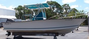 Used Key Largo 236cc Center Console Fishing Boat For Sale