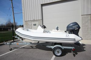 New Zodiac Yachtline 360 DL NEO 40HP IN Stock Rigid Sports Inflatable Boat For Sale