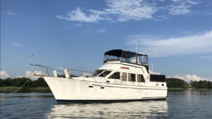 Used Island Gypsy Sundeck Trawler Boat For Sale