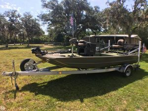 Used Tracker Grizzly 1754 Jon Boat For Sale