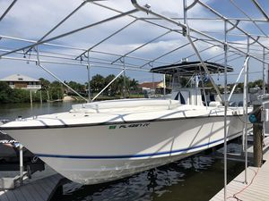 Used Contender Cuddy Center Console Fishing Boat For Sale