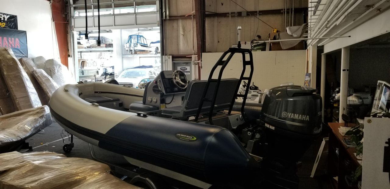 2018 New Life Proof 18' Tender Boat For Sale - $54,900 - Seattle, WA Walker Bay Inflatables Wiring Diagram on