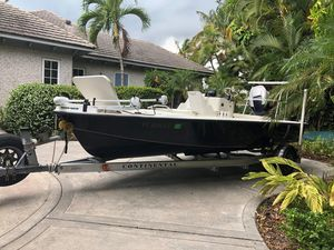 Used Egret 189 Kevlar Commercial Boat For Sale