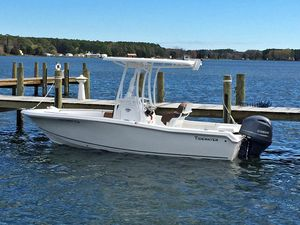 Used Tidewater 198 Adventure Center Console Fishing Boat For Sale