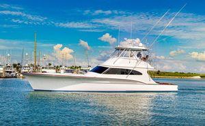 Used Custom Carolina 62 Convertible Hightower Convertible Fishing Boat For Sale
